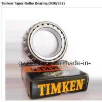 Quality Timken Taper Roller Bearing (938/932) for sale