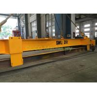 China Yellow Container Lifting Spreader , Electric Container Spreader Bar For Lifting Containers on sale