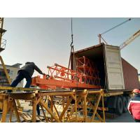 China Luffing crane hotsale.45m jib,40m height,,for Middleeast and Saudi 10ton load capacity,Inner climbing on sale