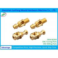 Quality Non-standard Precision CNC Brass Parts 7602000010 HS Code RoHS Certification for sale