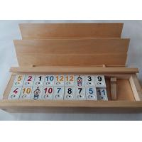 Quality Unfinished Natural Solid Wood Gift Packaging Box With Sliding Lid For Poker Cards for sale