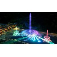 Quality Self Designed Outdoor Laser Light Show With Music Dancing Water Fountain for sale