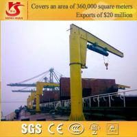 Quality Warranty 2 years Column Mounted 360 Rotating slewing jib crane 5t for sale