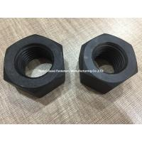Quality High Strength Heavy Duty Hex Nuts DIN 6915 Grade 10.9 Carbon Steel Material for sale