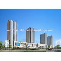 China Lightweight Modern Steel Prefab Homes , GB Material Welded Steel Structure on sale