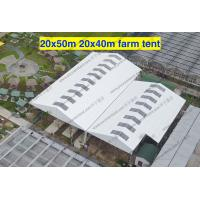 Quality Wind Resistant Transparent Party Tent Temporary Use Large With PVC Sidewalls for sale