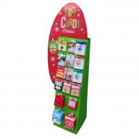 Quality Creative Cardboard Display Stands , Advertising Show Retail Display Racks for sale