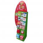Best Creative design cardboard display shelf for gift cards wholesale