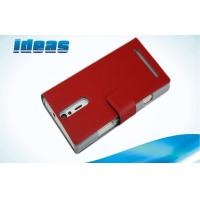 Quality Red Sony Xperia Leather Case , Sony Xperia GX TX LT29i PU Leather Pouch for sale