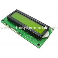 China STN / FSTN LCD Alphanumeric Display 16x2 Monochrome Character LCD Screen on sale