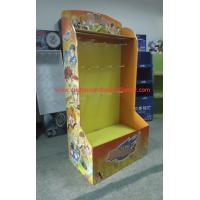 Best Point of sale Retail Pallet Display with hooks for toys , Foldable AND Strudy wholesale