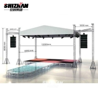 Quality Stage Display Lift Aluminum Truss System 400x400mm for sale