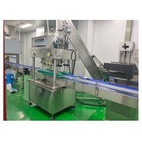 Quality 380V 4 Heads 50ml daily chemical industry servo control system Hand Sanitizer Filling Machine for sale
