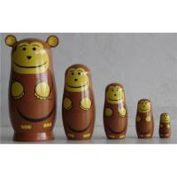Quality Chinese Nested Dolls   Monkey Nesting Dolls for sale