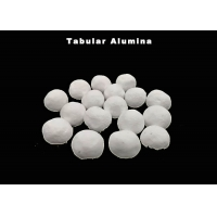 Quality 95%Min Passing Rate Rounded Shape Tabular Alumina for sale