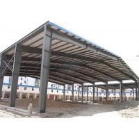 Quality Sugar Factory Steel Structure Workshop Hot Dip Galvanized Frame Construction for sale