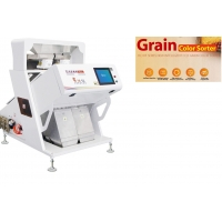 China AC220V / 50HZ Colour Sorting Machine For Plastic Material 1.2 - 2.5T/H Capacity for sale