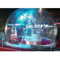 Quality PVC Clear Giant Inflatable Show Ball , Inflatable Snow Globe For Christmas Promotion for sale