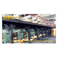17 mm Brass Rod Continuous Upcaster Line Brass Casting Equipment 400KW AC 380V