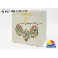 Quality Matt Laminated Elegant Paper Gift Bag With Chinese Characteristics for sale