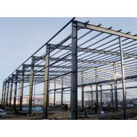 Quality Industrial Steel Frame Building Prefabricated Workshop Designed By Tekla PKPM for sale