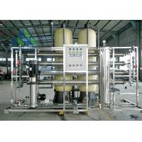 Quality RO System Automatic Control Salt Water Treatment Plant For Plastic Recycling for sale