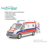 4ch HDD Mobile DVR for Ambulance GPS+3G+WIFI Optional