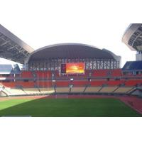 Quality 16*8 pixels sport led video display board for sports match with 1024*768 mm Cabinets for sale