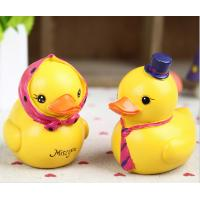 Best groceries couple cute little yellow duck warm resin ornaments crafts creative home wholesale