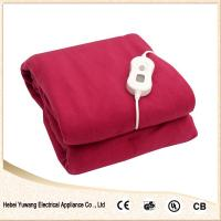 Quality 100% Pure Polyester Single/Double Controller Electric Blanket for sale