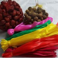 Quality Solid Reusable Mesh Produce Bags , PE Pwoven Mesh Bags For Fruit / Vegetable for sale