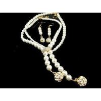 Buy cheap Fashion Wedding Imitation Pearl Jewellery Set (JS-006) from wholesalers