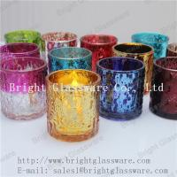 Buy cheap hot sale decorative tea light glass candle holder supply from wholesalers