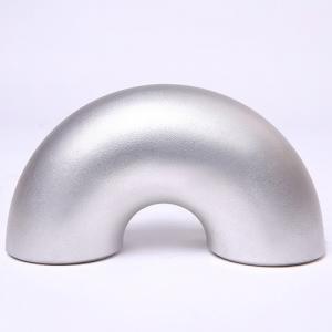 Quality 6061 / 6063 Aluminum Butt Weld Elbow 45 Deg 90 Deg 180 Deg for sale