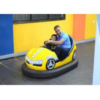 Double Seats Indoor Kids Dodgem Cars Built In MP3 Music Box Control