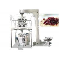 Quality Multihead Weigher Automatic Packing Machine For Dried Cranberries , Fruit , Candy for sale