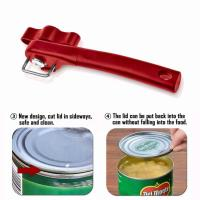 Easy Grip Manual Can Opener, Professional Effortless Manual Stainless Steel Can Opener