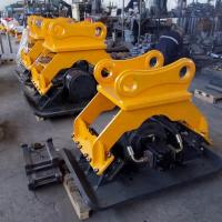 Quality Small vibratory stone plate compactor parts for 20 Ton Excavator Hydraulic Vibro Concrete Compactor for sale