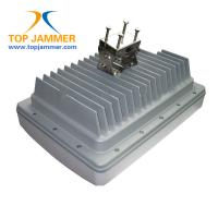 Buy cheap IP Remote Monitoring Waterproof High Power Jammer Blocker GSM 3G 4G LTE UHF VHF from wholesalers