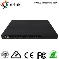 Quality Managed Ethernet Switch Fiber Optic 24 10Gbps SFP+ ports + 4 Gigabit TP / SFP combo ports for sale