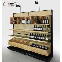 Quality Commercial Wine Display Racks And Liquor Shelving For Wine Stores / Shops for sale
