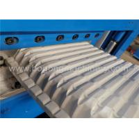 Quality Low Noise Standing Seam Roll Forming Machine , Standing Seam Roof Crimper Curved Machine for sale