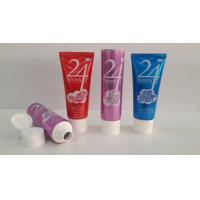 Quality 150G Large Orifice Aluminum Barrier Laminated Tubes , Facial Cleaner Cosmetic Tube Packaging for sale