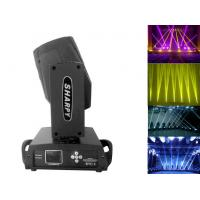 Quality Black 230w 16 Channels Moving Head Beam Light With Color Touch Screen for sale