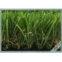 Quality AVG Outdoor Artificial Turf Decorative Grasses With 35 MM Height Green Color for sale