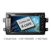 Quality Quad Core Android Car Stereo Head Unit For Suzuki SX4 DVD GPS Navigation 2006 - 2012 for sale