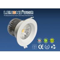 Quality Interior Lighting Round COB Led Downlights 15W White Housing For Bed Room Lighting 3000K for sale