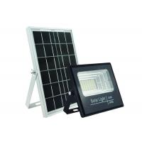 Quality Big Panel Industrial Exterior Solar Led Flood Lights Remote Control 25W for sale