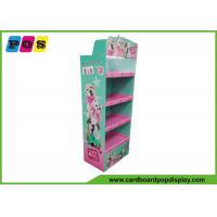 China Offset Printing Pop Up Cardboard Display , Corrugated Display Stand For Plush Dolls FL173 on sale