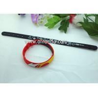 Quality Promotional gifts custom soft silicone wristband for children sports meeting events club for sale